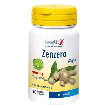 long life longlife zenzero 60cps veg