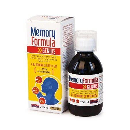 vital factors italia srl memory formula genius 200ml