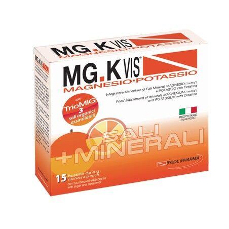 pool pharma srl mgk vis orange magnesio e potassio gusto arancia 15 bustine