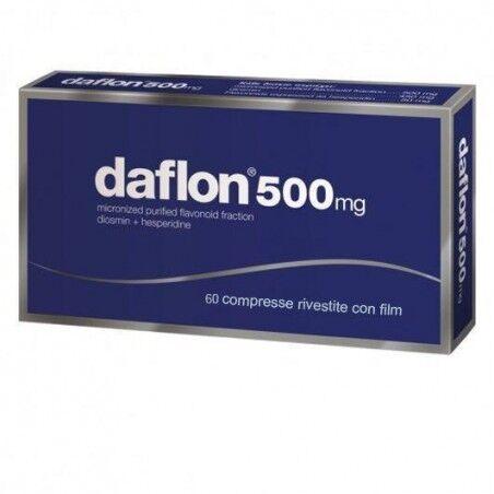 Daflon Servier Italia Spa Daflon 60 Compresse Rivestite 500mg
