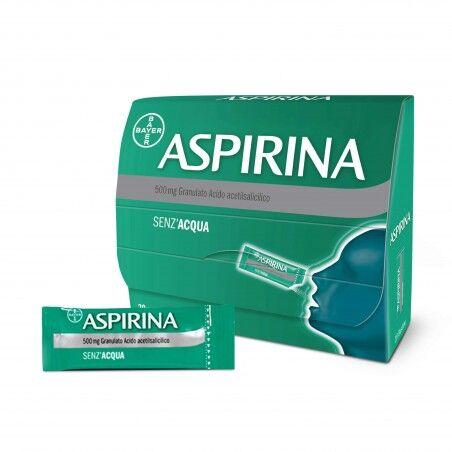 Aspirina Bayer Spa Aspirina Granulato 20 Bustine 500 Mg