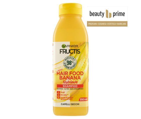 garnier fructis fructis hair food shampoo banana