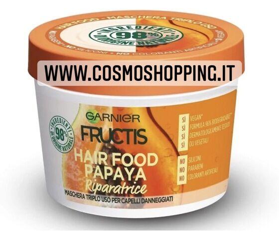 garnier fructis hair food papaya maschera triplo uso riparatrice
