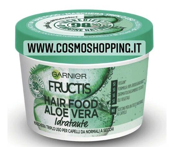garnier fructis hair food aloe vera maschera triplo uso idratante