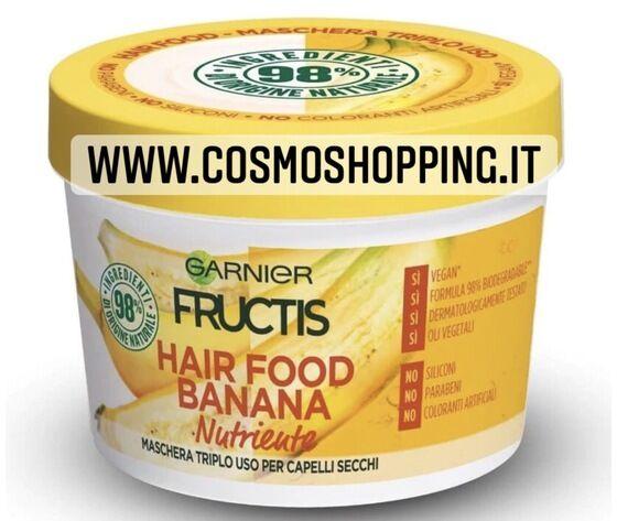 garnier fructis hair food banana maschera triplo uso nutriente