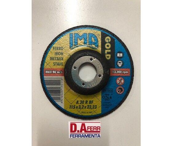 IMA Disco Taglio Ferro Gold Mm.125x3,2