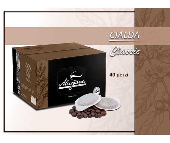 un vulcano di sapori Caffè Classic In Cialde 40 Pz