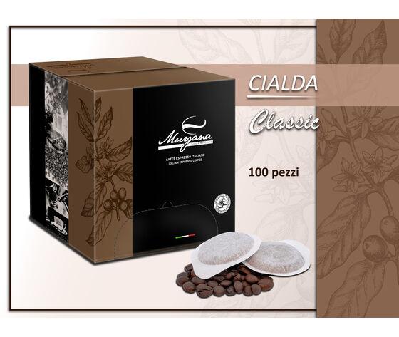 un vulcano di sapori Caffè Classic In Cialde 100 Pz
