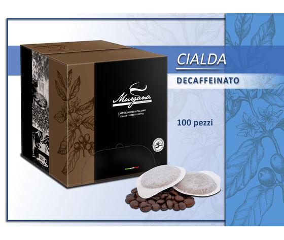 un vulcano di sapori Caffè Deca In Cialde 100 Pz