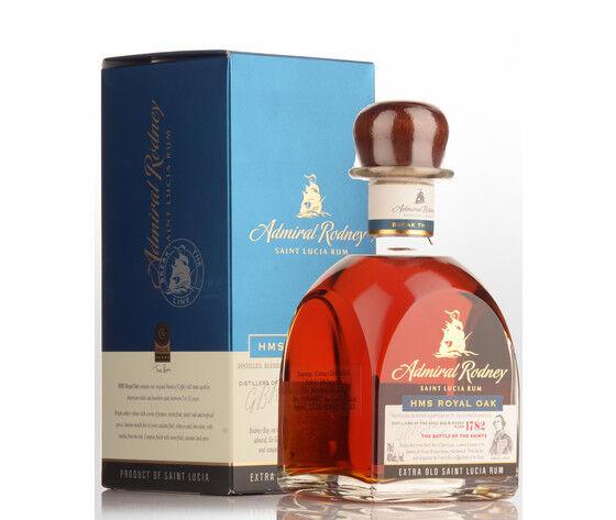 HMS ROYAL OAK Rum Hms Admiral Rodney Royal Oak Cl 70 40% Vol. Astucciato