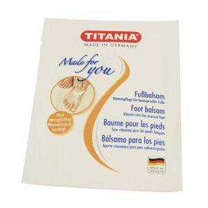 Titania Balsamo piedi Bustina Monodose 3ml