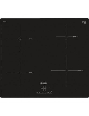 Bosch Piano Cottura A Induzione  Pue611bf1e 4 Fornelli 60 Cm Nero