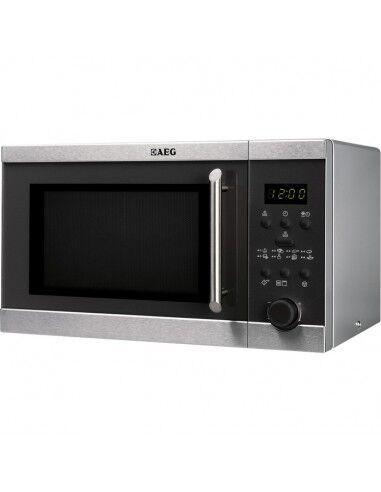 Aeg Forno A Microonde  Mfd2025s-M Con Grill 20 L 800 W Nero, Acciaio Inossidabile