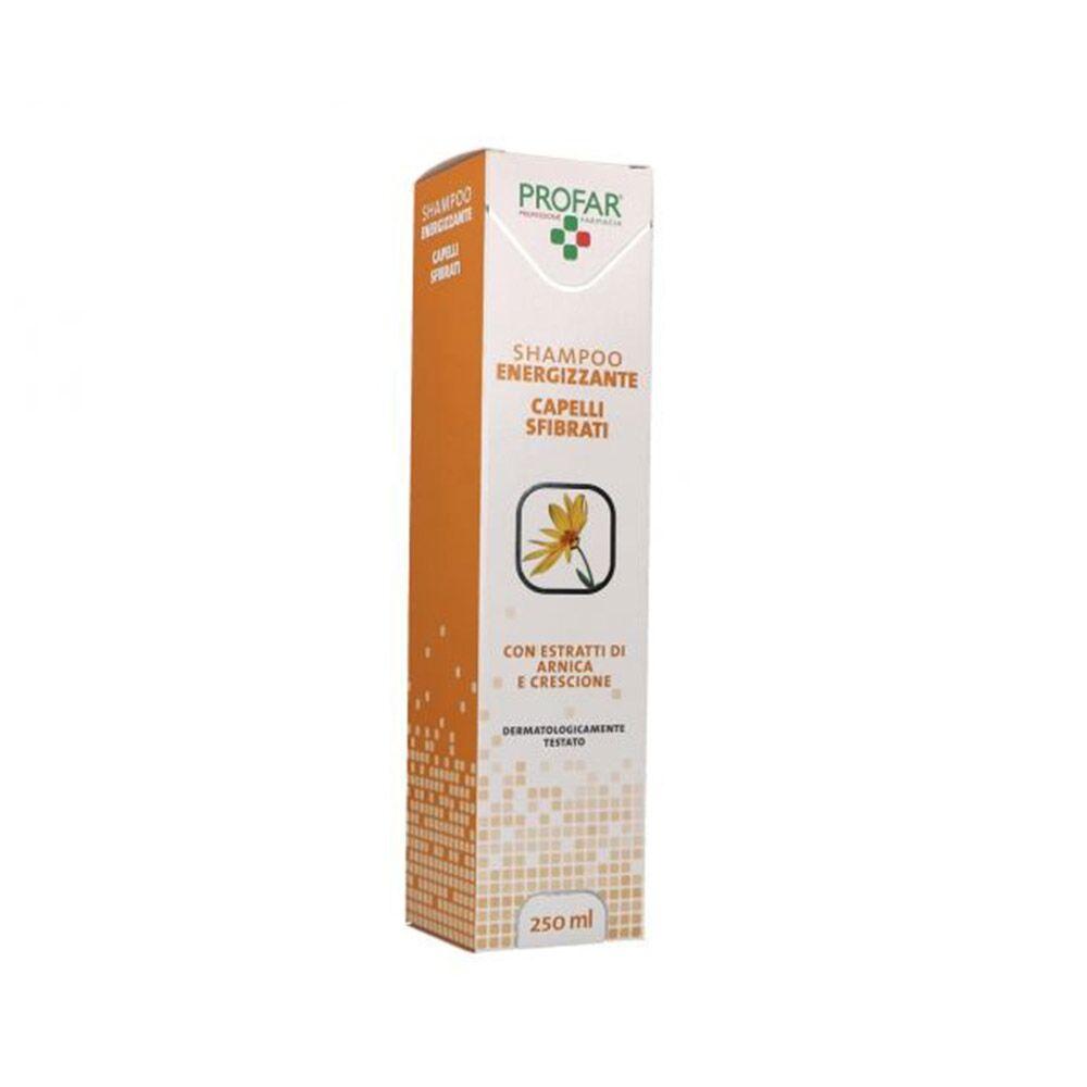 profar shampoo energizzante per capelli sfibrati, 250ml
