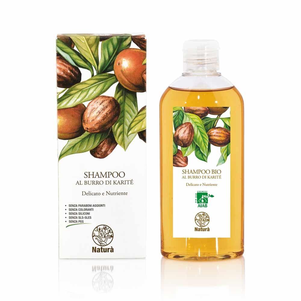 La Dispensa Burro di Karité - Shampoo Delicato e Nutriente, 200ml