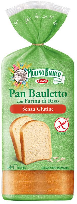 Barilla G. E R. Fratelli Mulino Bianco Pane Bauletto Con Farina Di Riso 300 G