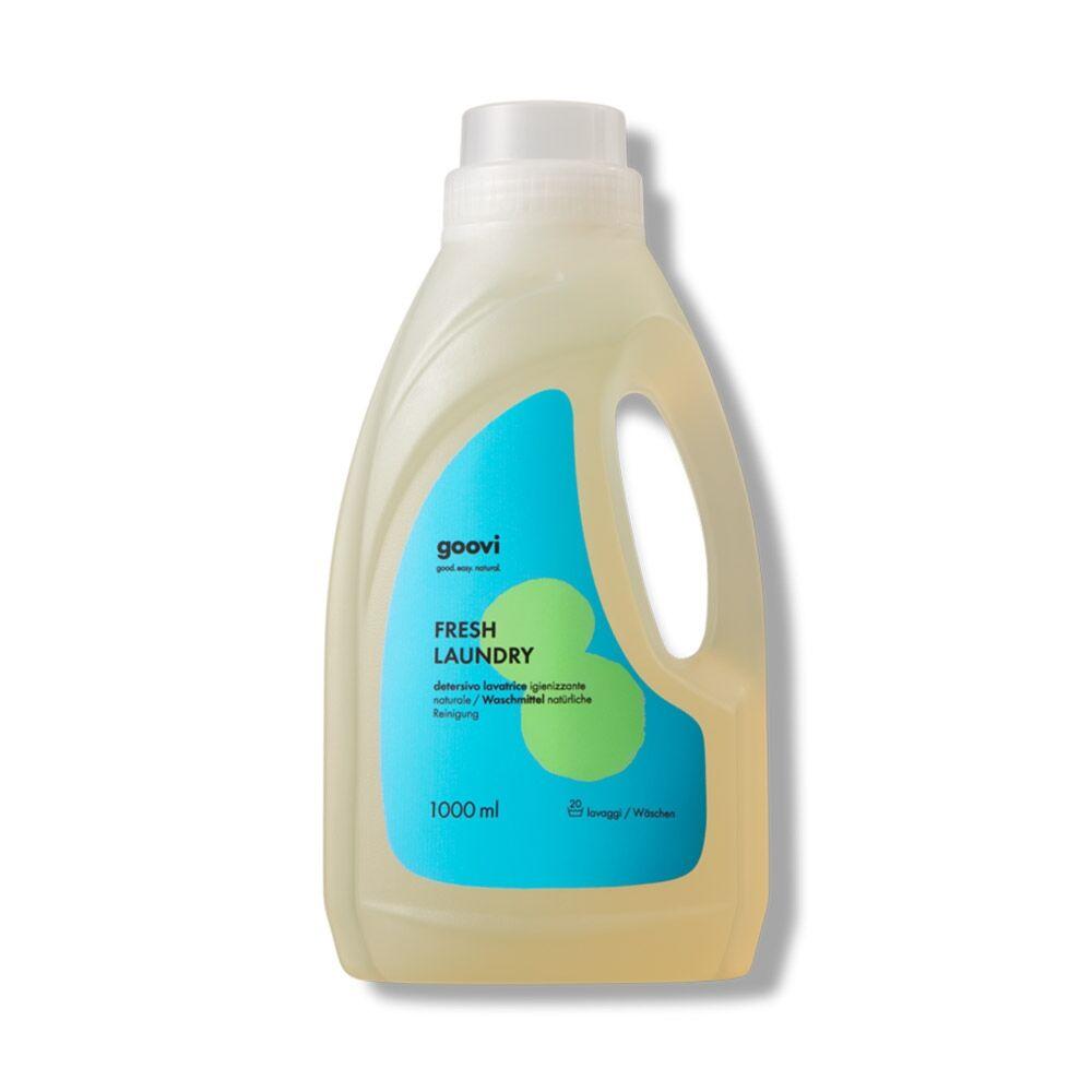 Goovi Fresh Laundry Detersivo Lavatrice Igienizzante, 1Litro