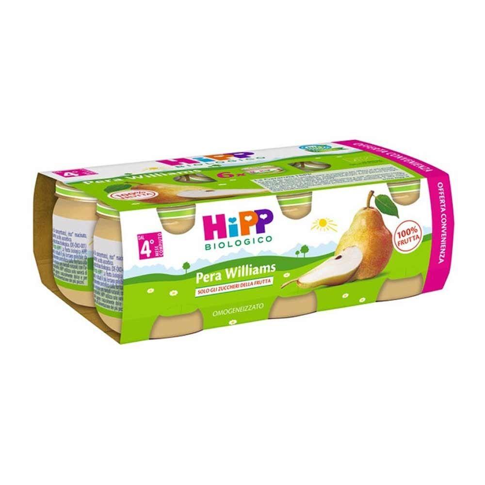 HiPP Omogeneizzato MultiPack Pera Williams 6x80 g