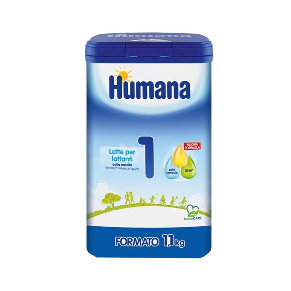 Humana 1 Latte In Polvere Per Lattanti Fino Al 6 Mese, 1,1Kg