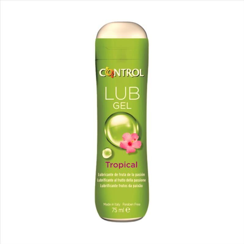 Control Lub Gel Tropical Gel Lubrificante Aroma Frutto Della Passione 75 ml
