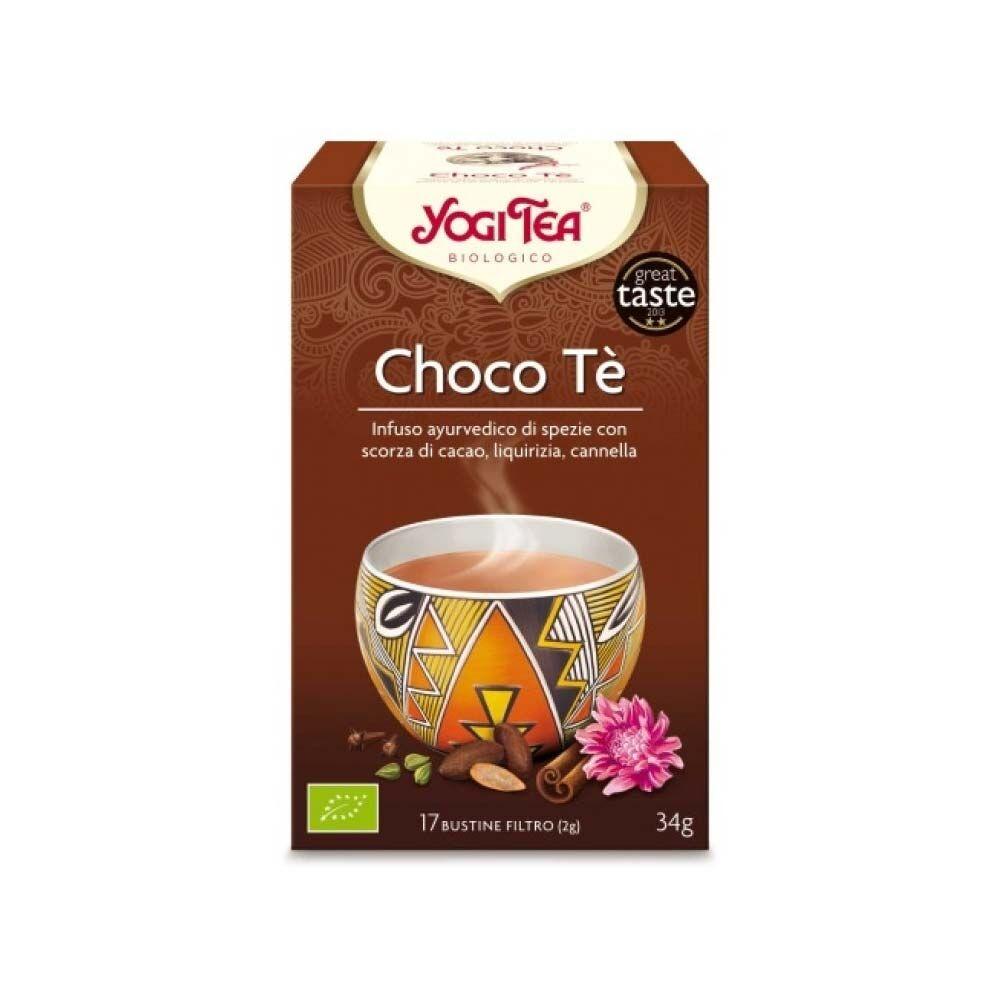 yogi tea choco tè bio infuso di spezie 17 bustine