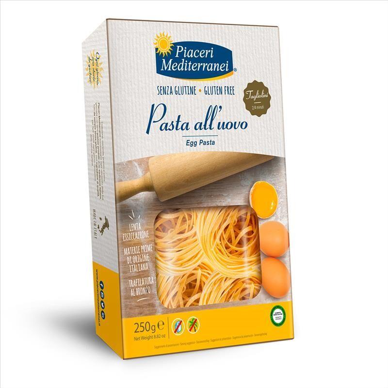Piaceri Mediterranei Tagliolino All'Uovo Senza Glutine 250 g