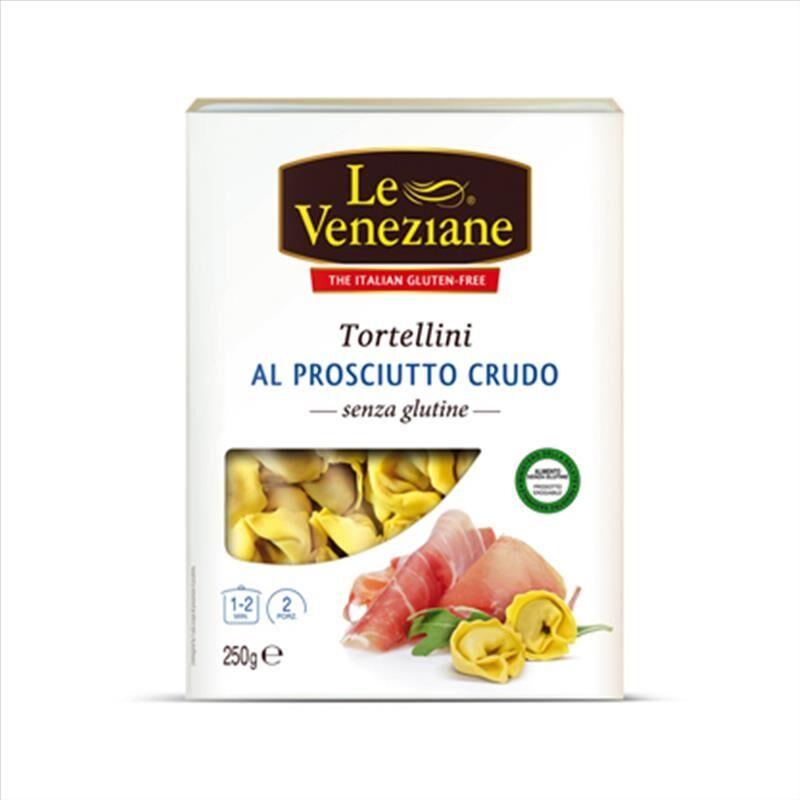 Le Veneziane Tortellini Prosciutto Crudo Senza Glutine, 250g
