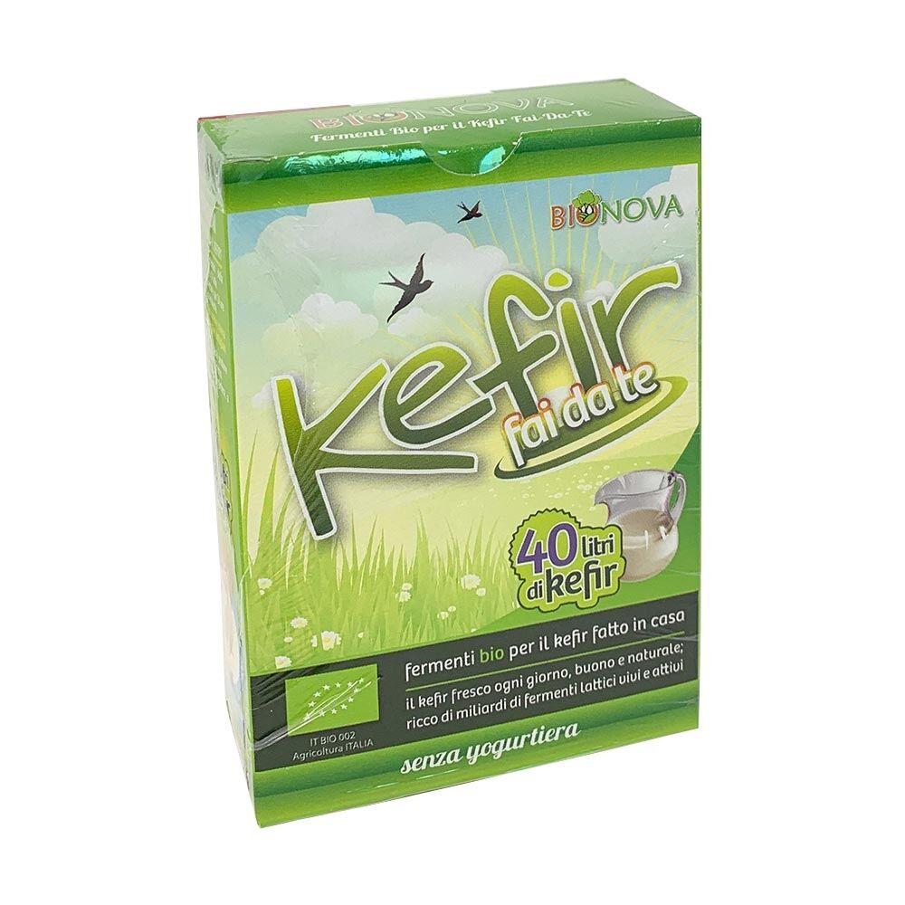 Bionova Kefir fai da Te Fermenti Bio, 4 x 5g