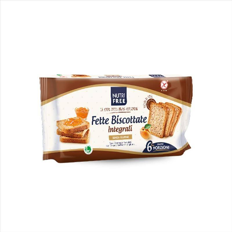 Nt Food Nutrifree - Fette Biscottate Integrali Senza Glutine, 225g