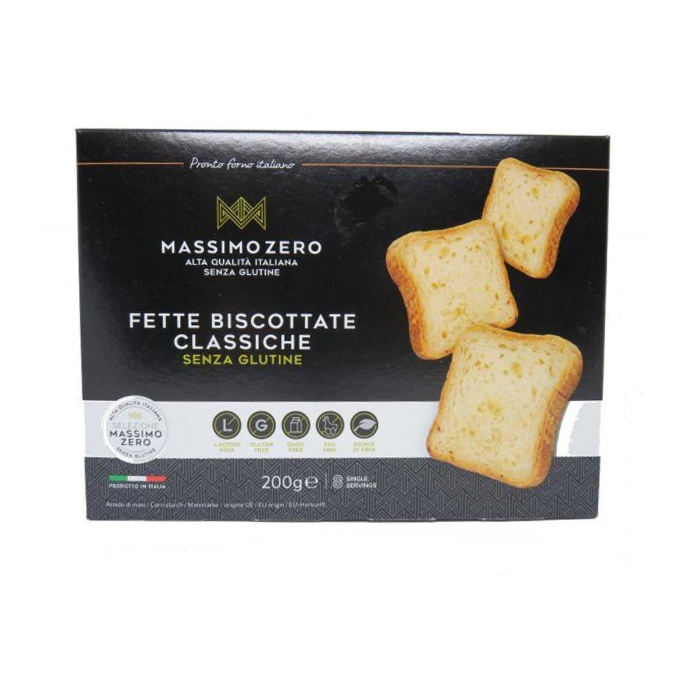 Massimo Zero Fette Biscottate Classiche Senza Glutine, 200g