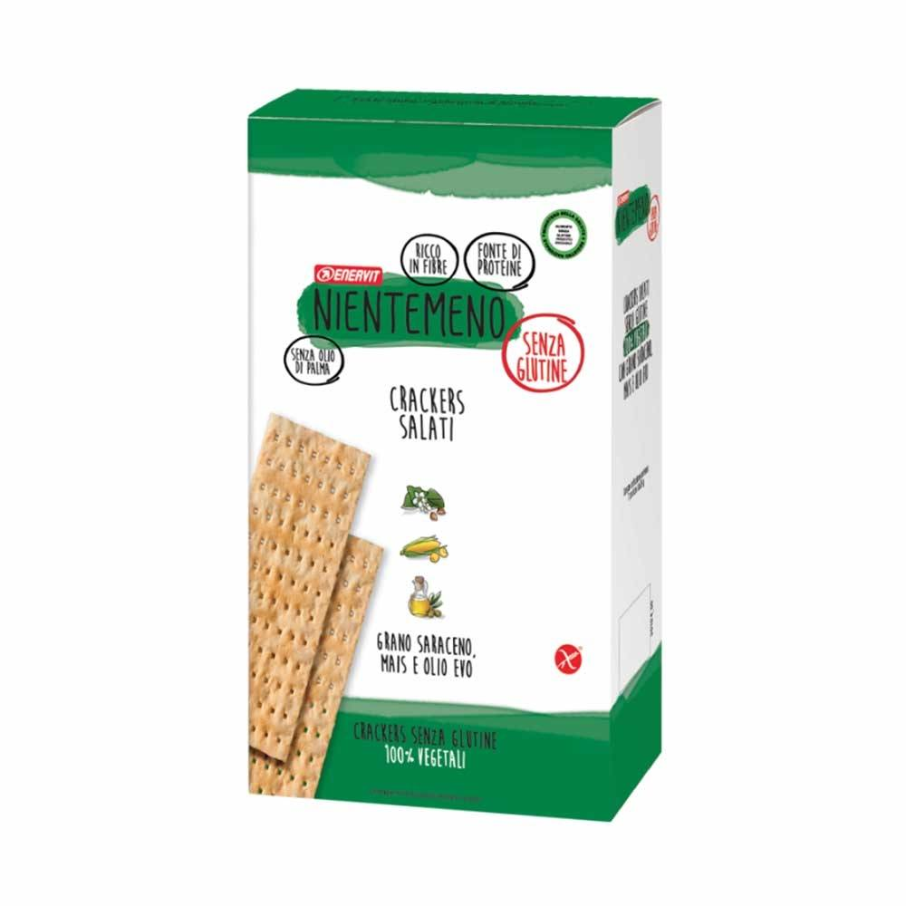 Enervit Nientemeno Crackers con Grano Saraceno e Mais, 7 Mini Pack