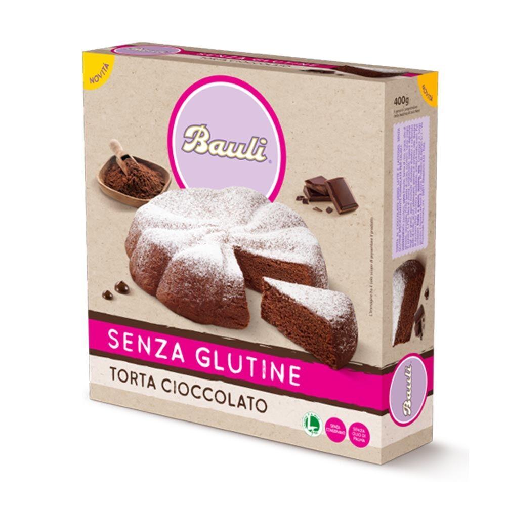 Bauli Torta al Cioccolato Senza Glutine, 400g