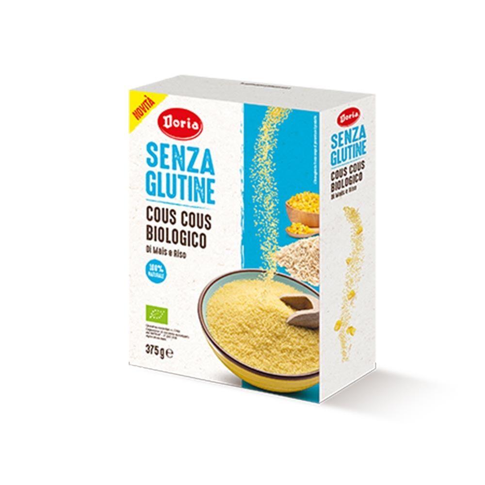 Doria Cous Cous Biologico di Mais e Riso Senza Glutine, 375g