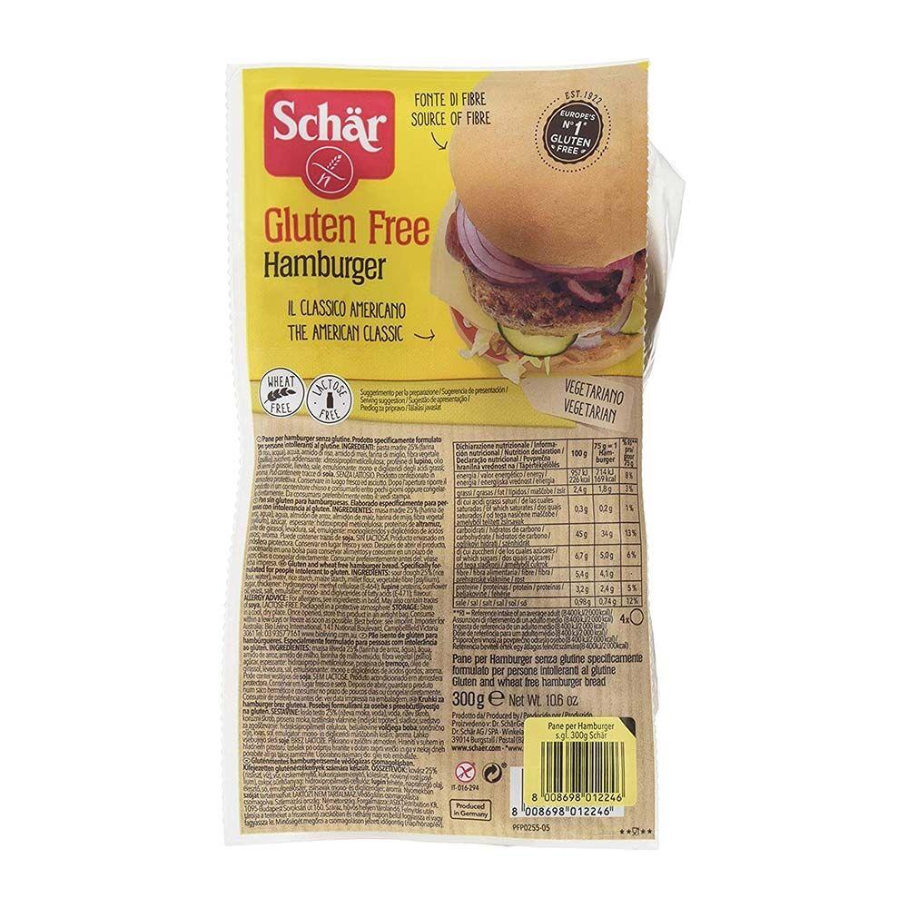 Schar Panini Hamburger Senza Glutine 300 gr