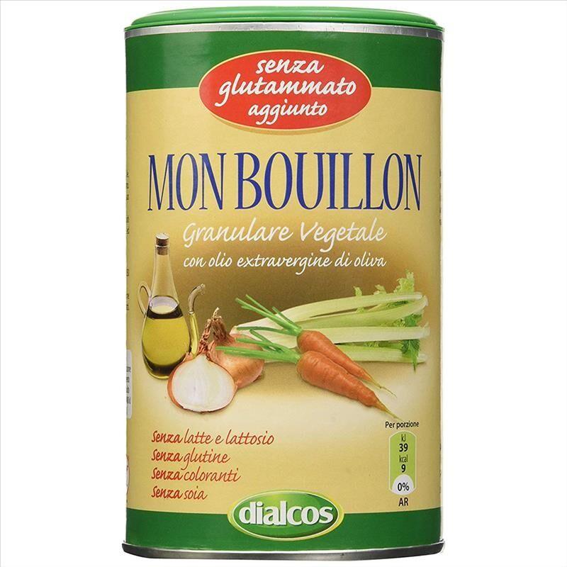 Dialcos Mon Bouillon Preparato Per Brodo E Condimento Granulare Vegetale 200 g