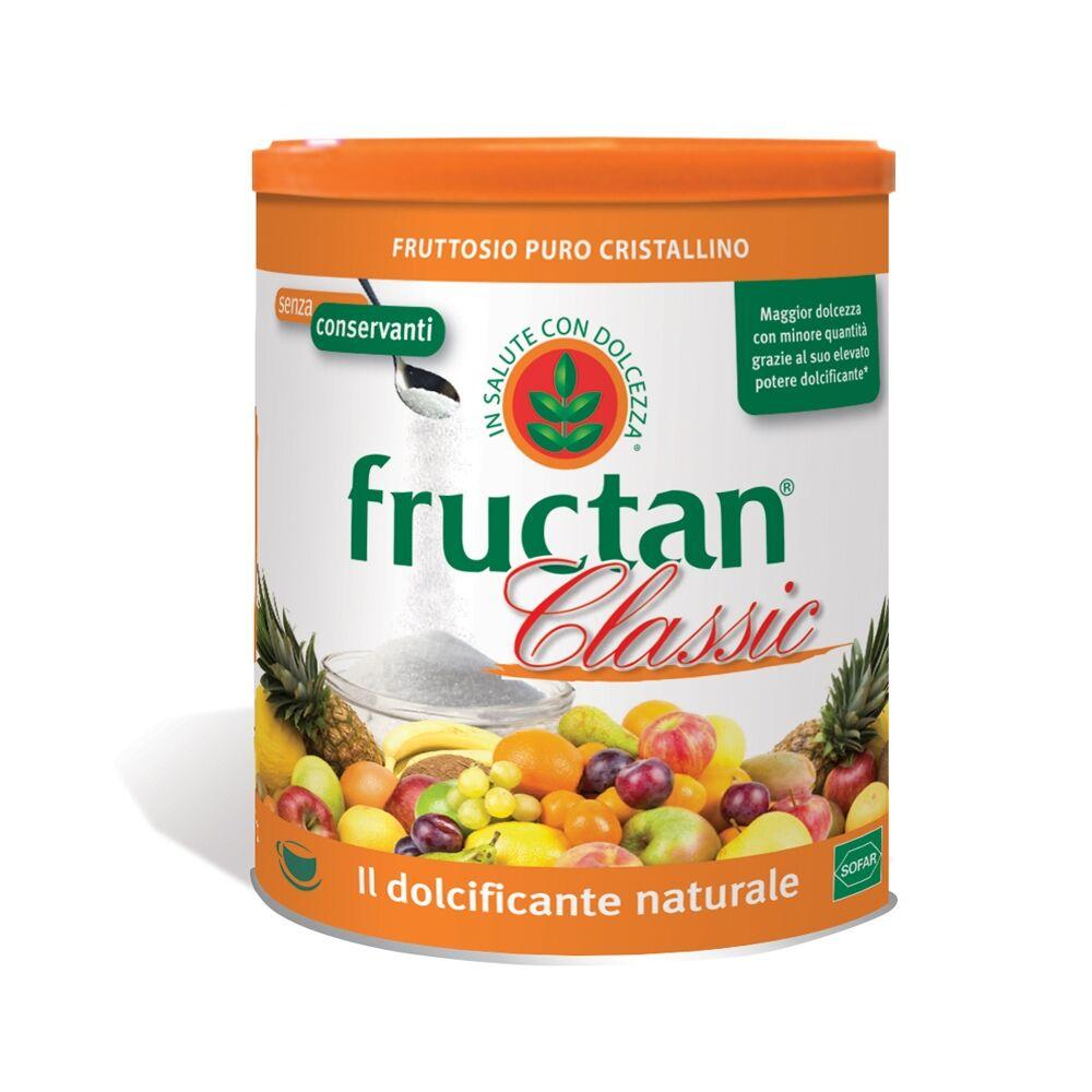 SOFAR Fructan Classic Polvere Puro Fruttosio Cristallino, 450g