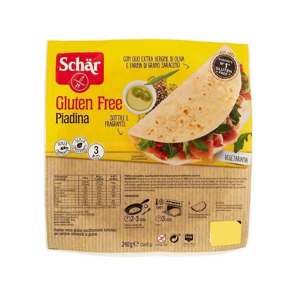 Schar Piadina Senza Glutine 160 gr