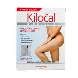 kilocal rimodella fango snellente trattamento anti-cellulite, 600g