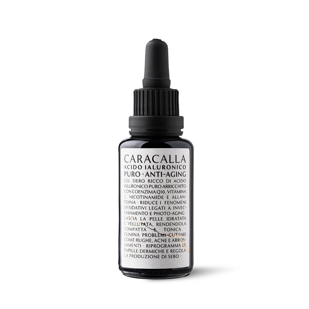 caracalla acido ialuronico puro anti-aging siero anti-rughe, 30ml