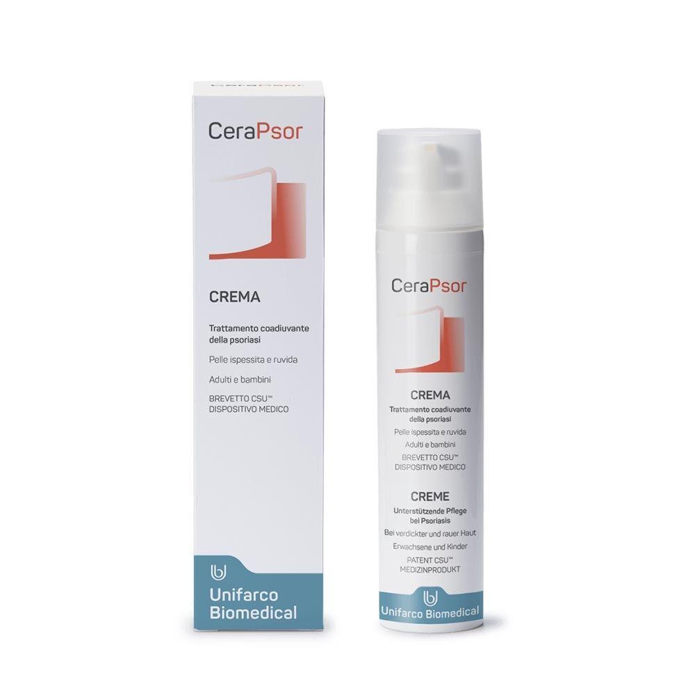 unifarco cerapsor - crema trattamento coadiuvante della psoriasi, 100ml