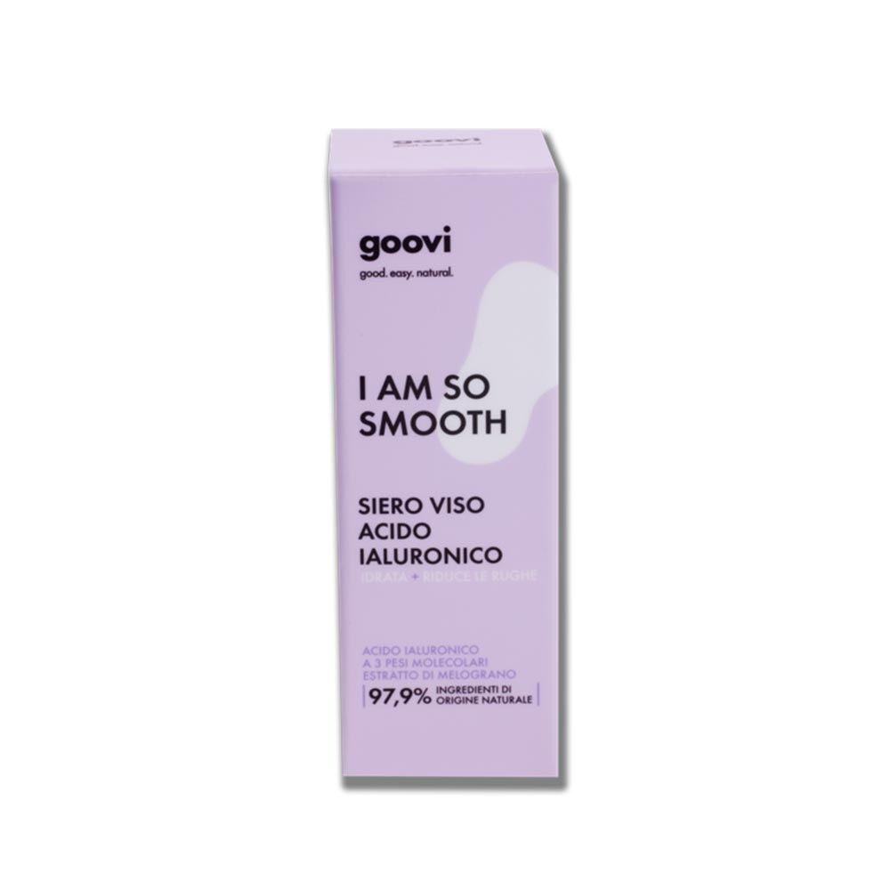 goovi i am so smooth siero viso acido ialuronico, 30ml