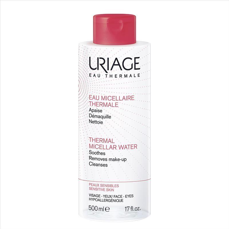 uriage acqua micellare termale pelle sensibile, 500ml