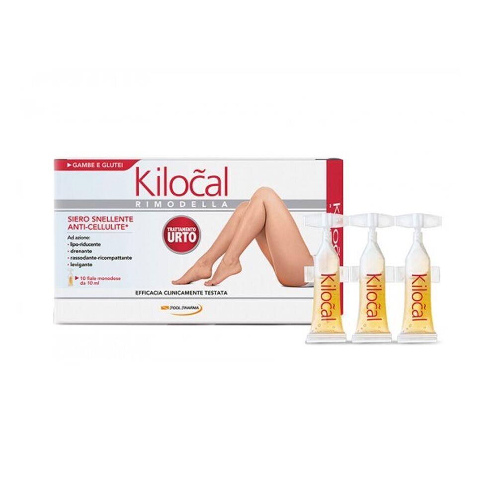 kilocal rimodella siero snellente anti-cellulite, 10 fiale