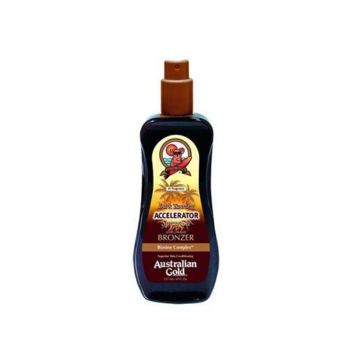 Australian Gold Dark Tanning Spray Gel Intensificatore Abbronzatura, 237ml