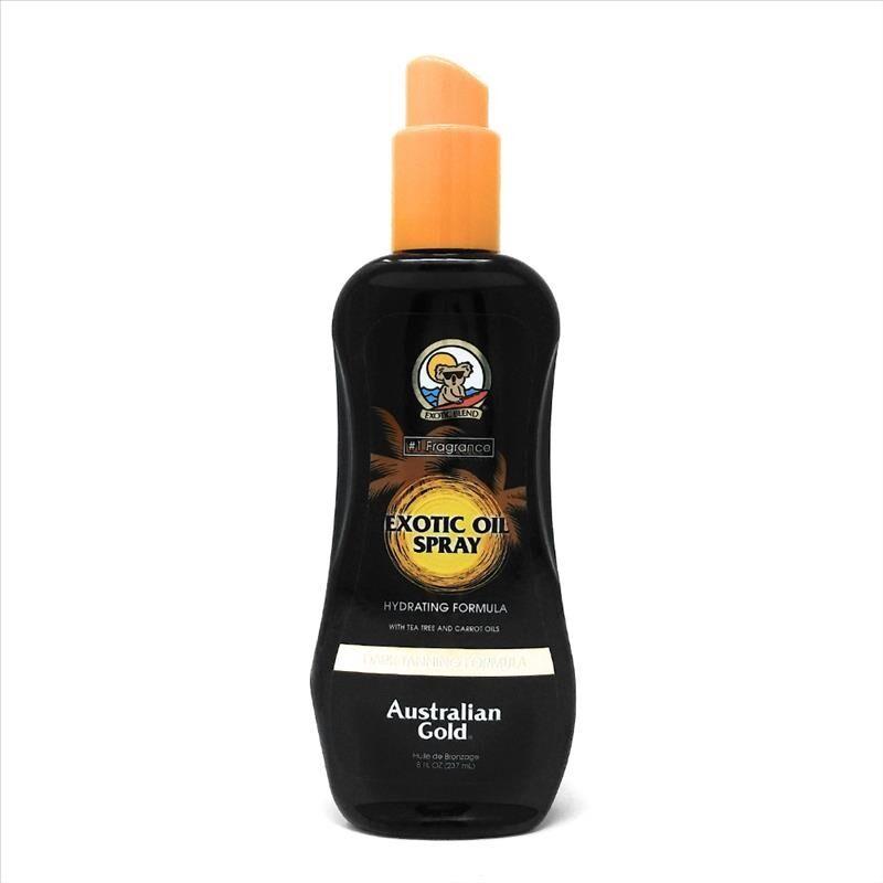 Australian Gold Exotic Oil Spray Intensificatore Abbronzatura, 237ml