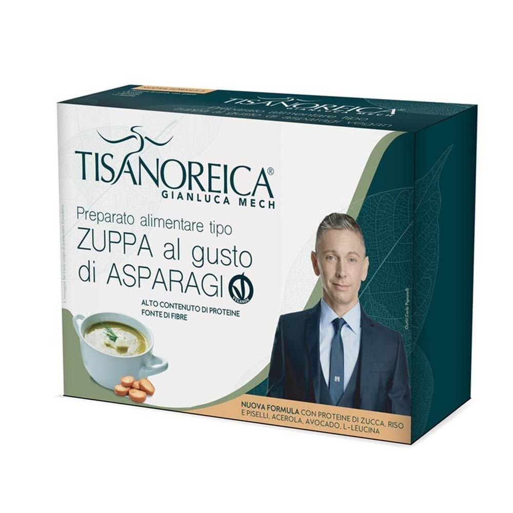Tisanoreica Zuppa Al Gusto Di Asparagi Vegan Preparato Alimentare, 4 Bustine