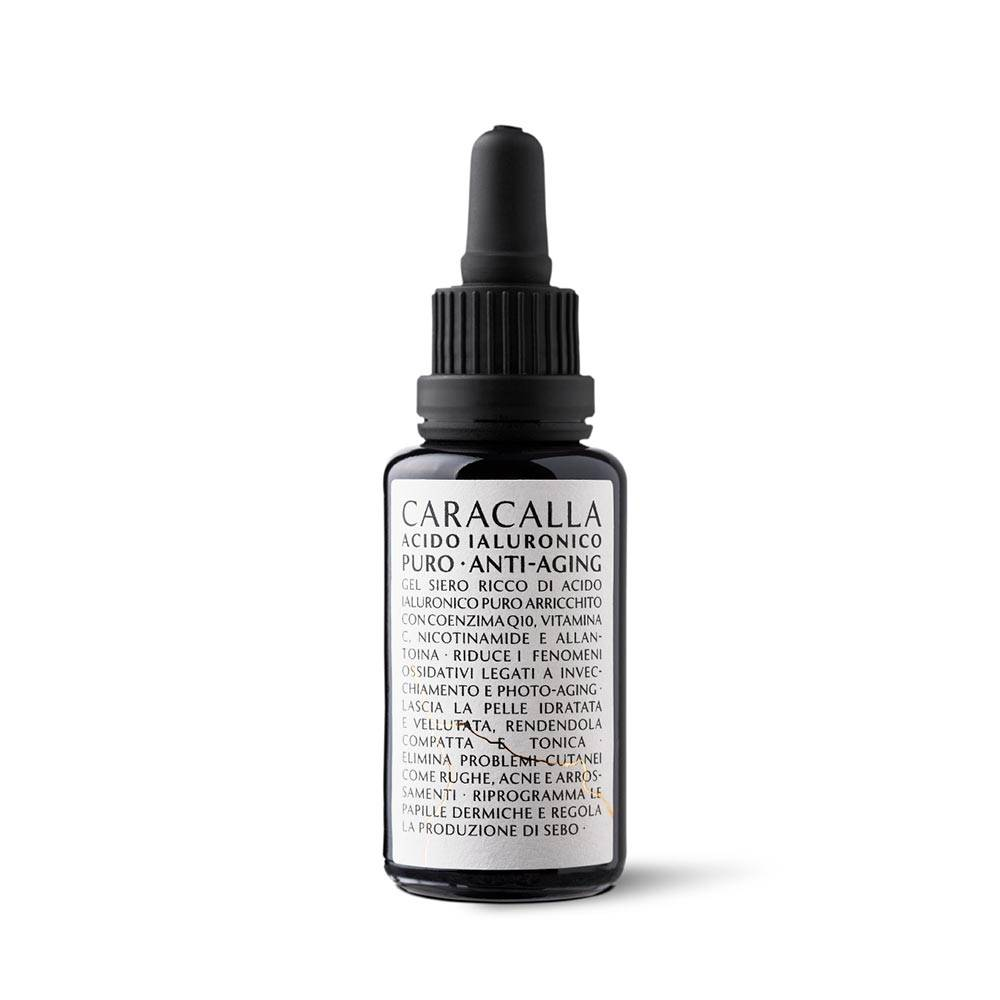 caracalla acido ialuronico puro anti-aging siero anti-rughe, 30ml