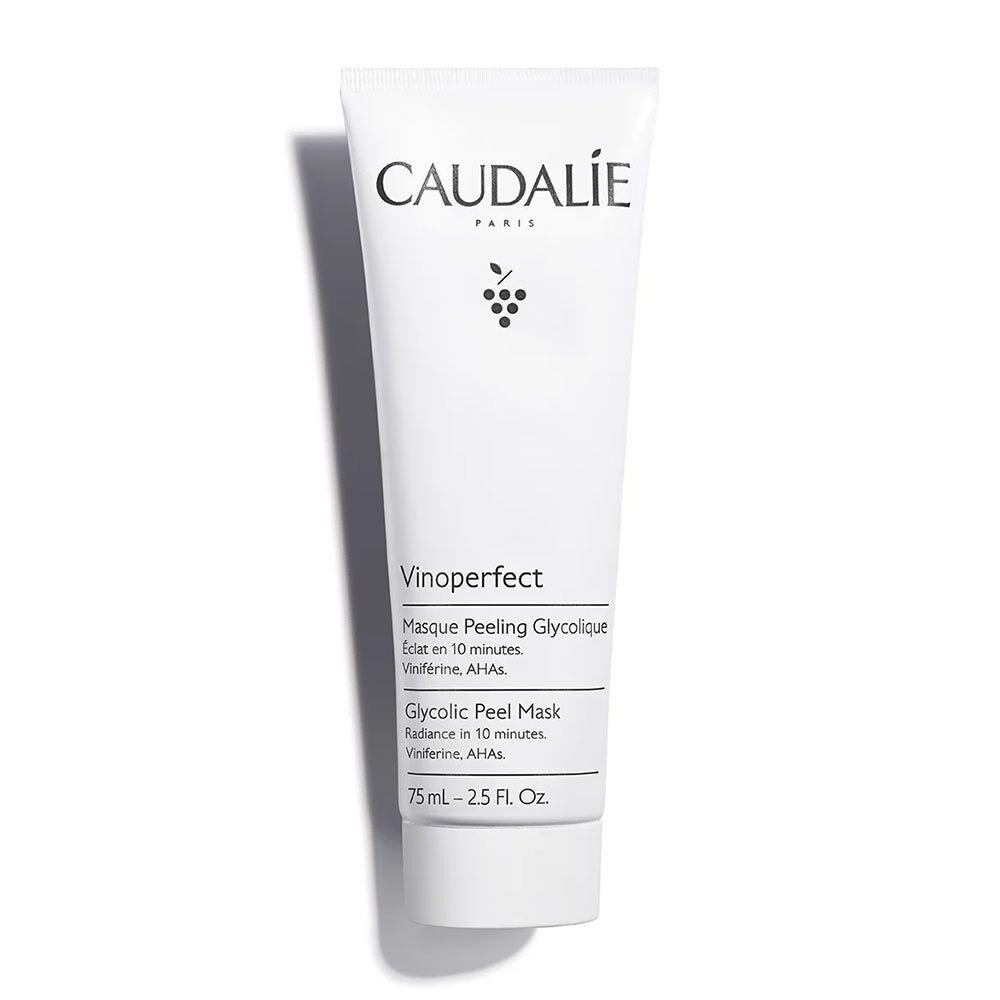 Caudalie Vinoperfect - Maschera Peeling Glicolico Obiettivo Luminosità, 75ml
