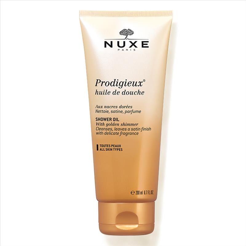 Nuxe Prodigieux - Huile Douche Olio Doccia Detergente Profumato, 200ml