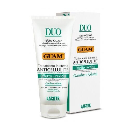 guam duo - crema anticellulite effetto freddo gambe glutei, 200ml